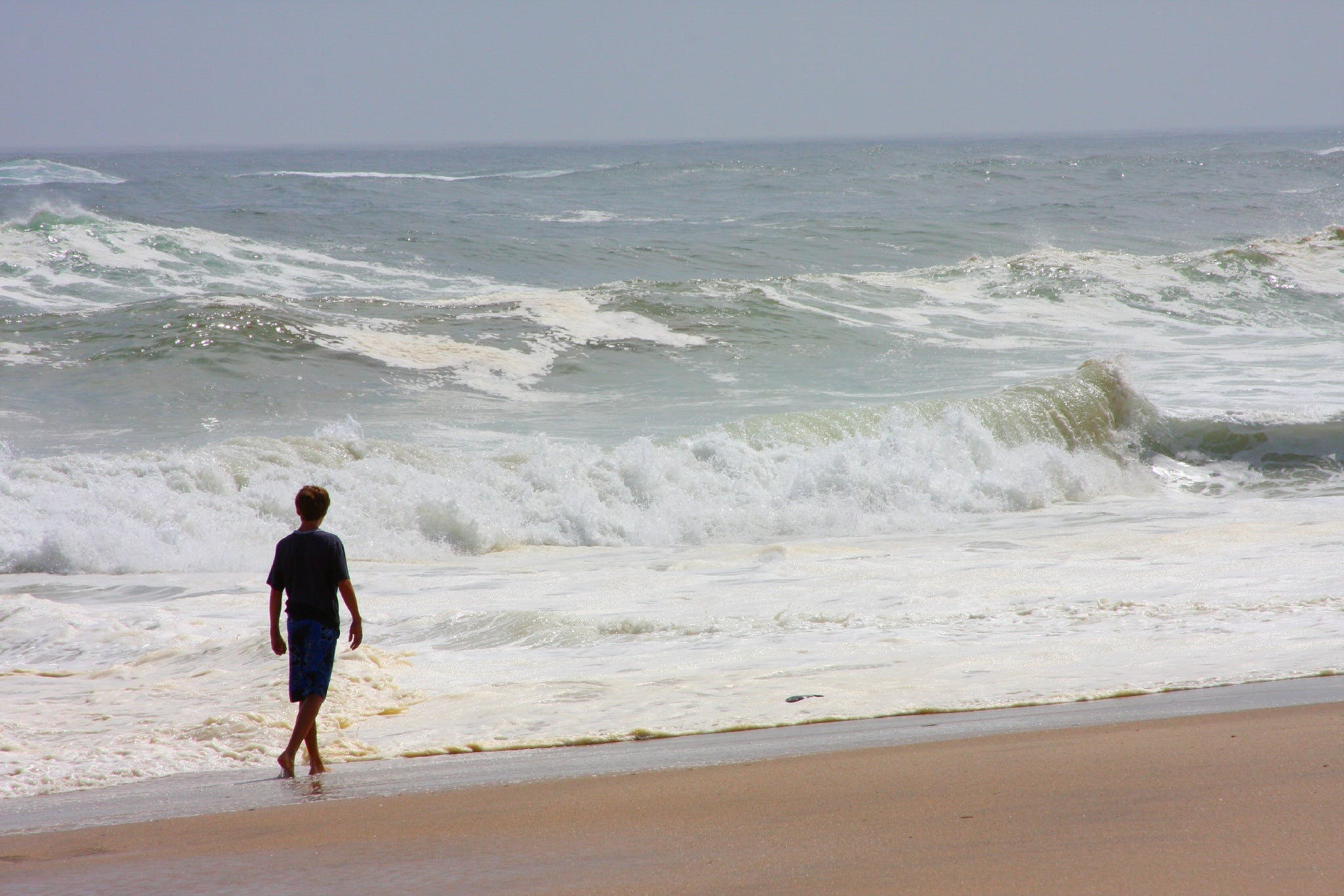 Free stock photo of sea, beach, walking, ocean