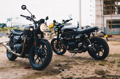 Black Motorcycles