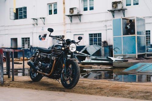 Fotobanka sbezplatnými fotkami na tému automobilový priemysel, bicykel, dopravný systém, motocykel