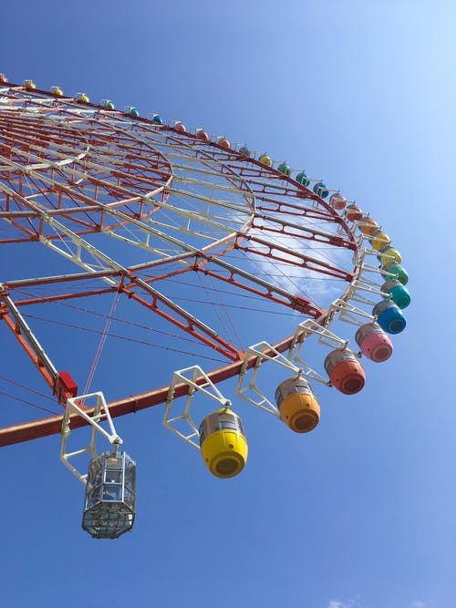 Ferris Wheel Low Angle Photography