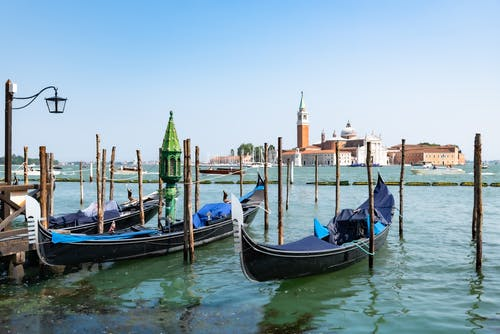 Free stock photo of boat, gondolas, grand canal