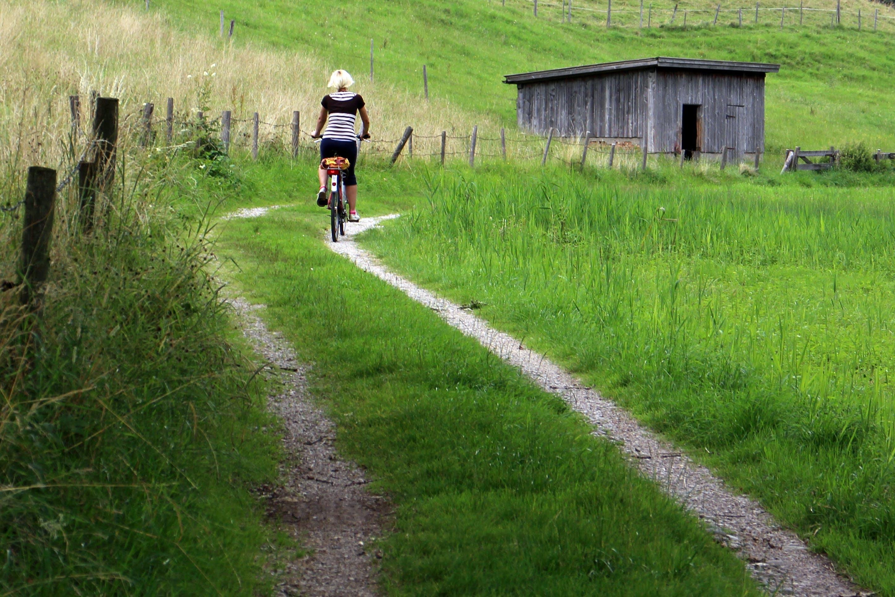 Free stock photo of alone, away, bike, cycle