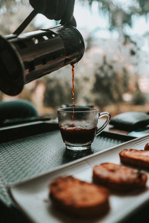 cangkir, kafe, kafein