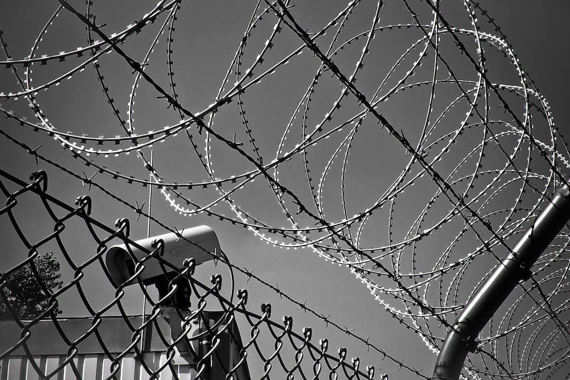 Foto d'estoc gratuïta de abstracte, acer, blanc i negre
