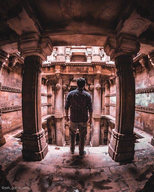 건축의, 고고학, 고대의, 고프로의 무료 스톡 사진