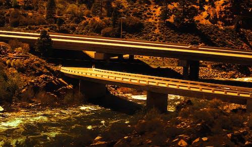 Ingyenes stockfotó johan bos autópálya sziklák naplemente út témában