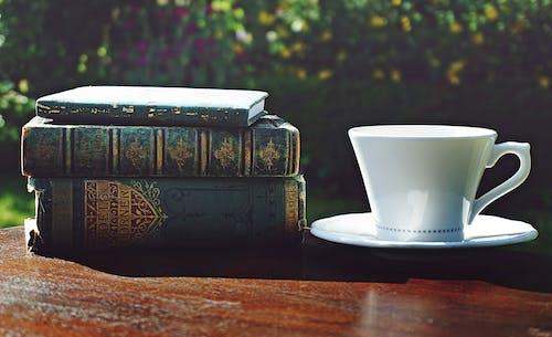 Δωρεάν στοκ φωτογραφιών με αναψυκτικό, βιβλία, κούπα, πίνω