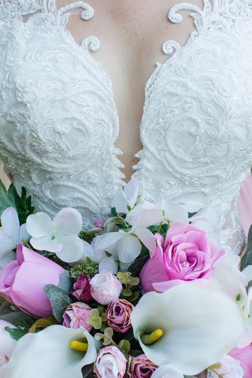 Photo of Woman Wearing Wedding Dress