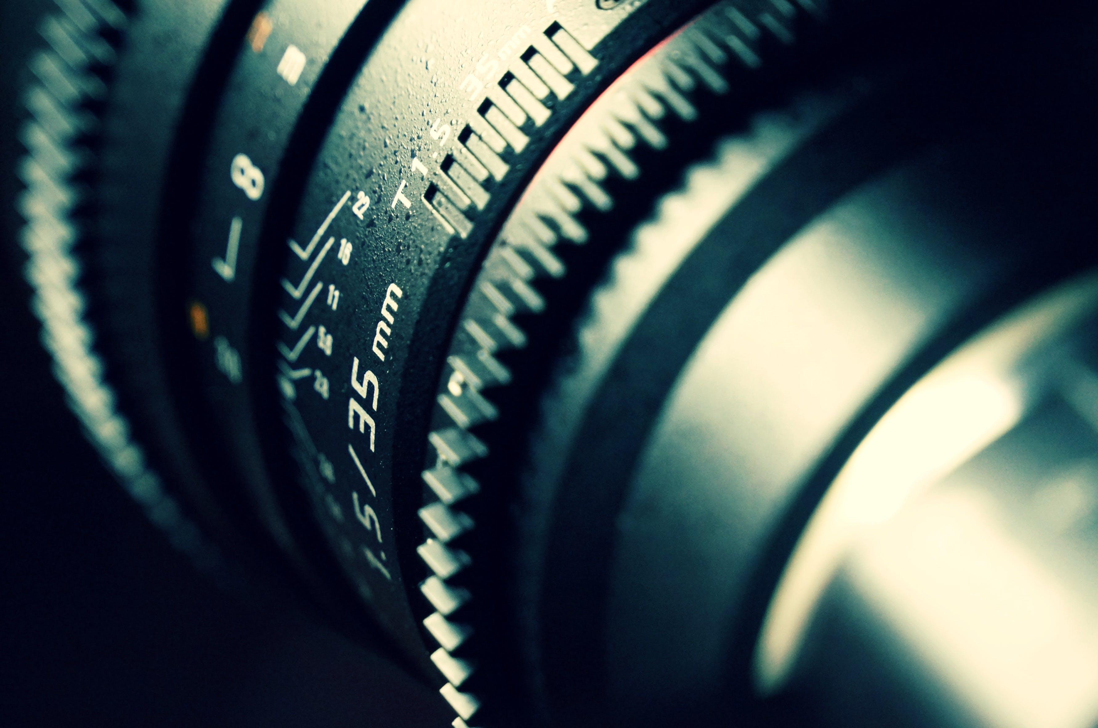 Closeup Photography of Zoom Lens