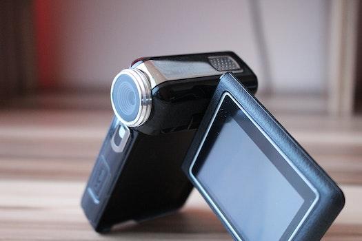 Free stock photo of camera, multimedia, video camera, handcam