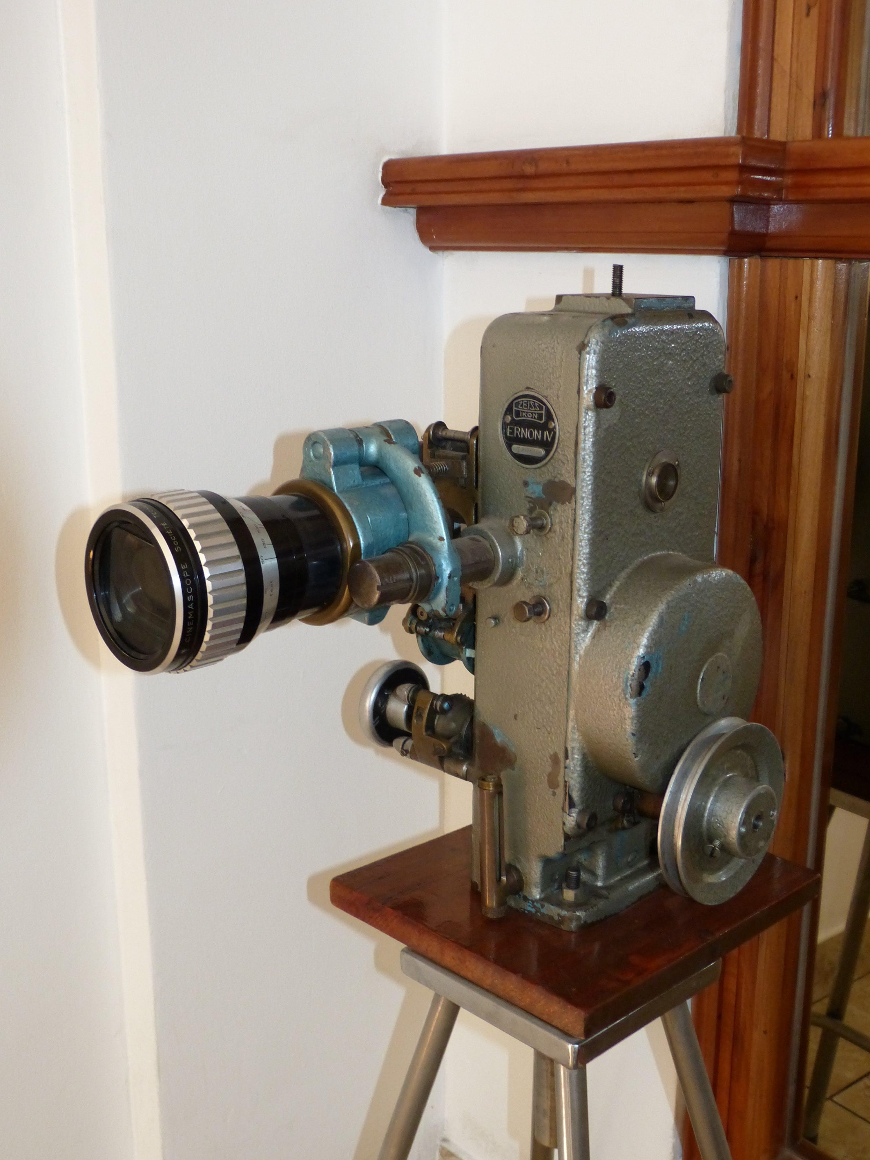 Free stock photo of camera, technology, lens, film