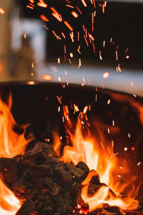 Gratis arkivbilde med blusse, bokeh, brann, brenne