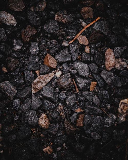 小路, 岩石, 橙子, 濕 的 免費圖庫相片