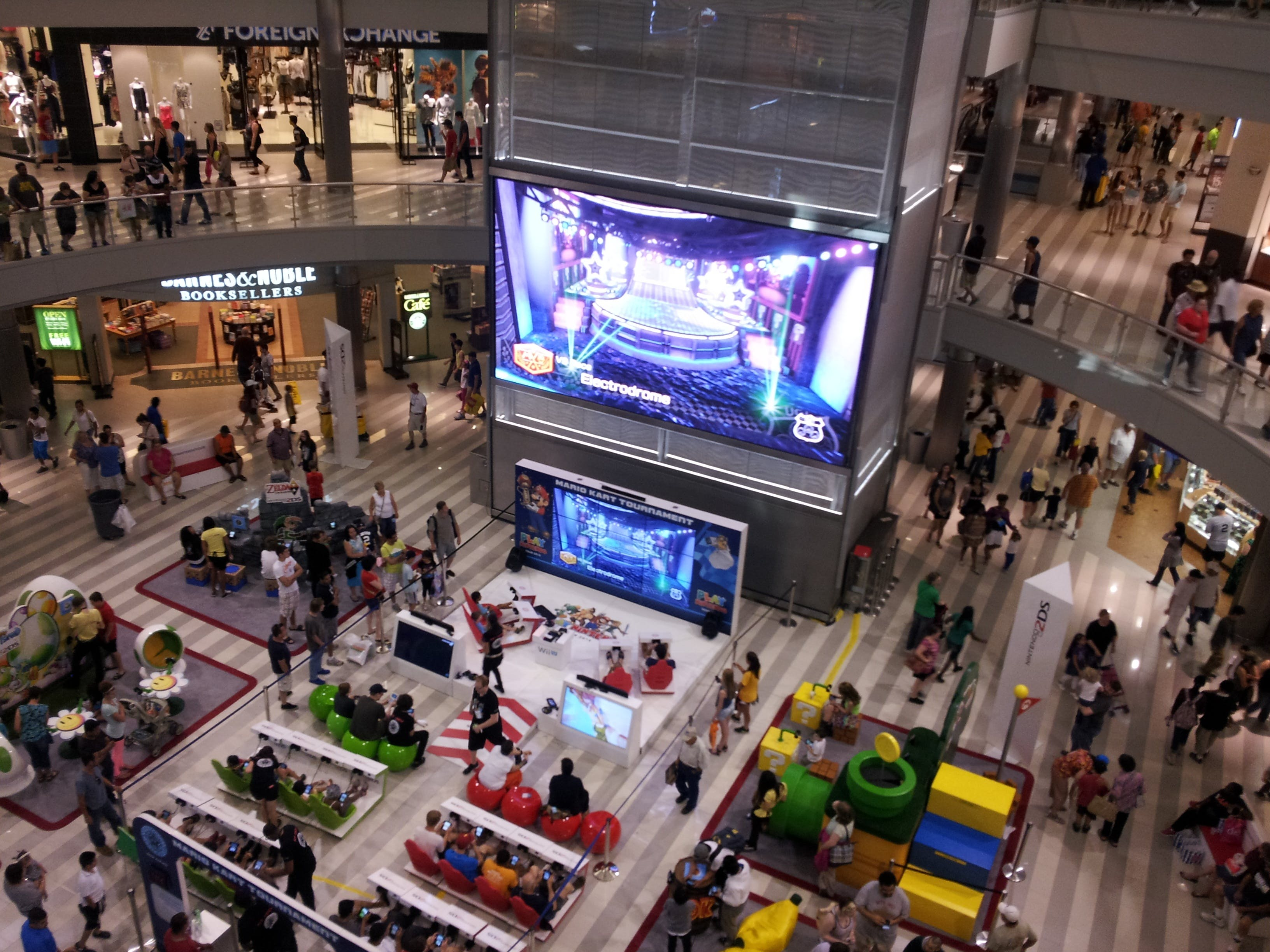 Free stock photo of event, indoor, Shopping Mall, video game