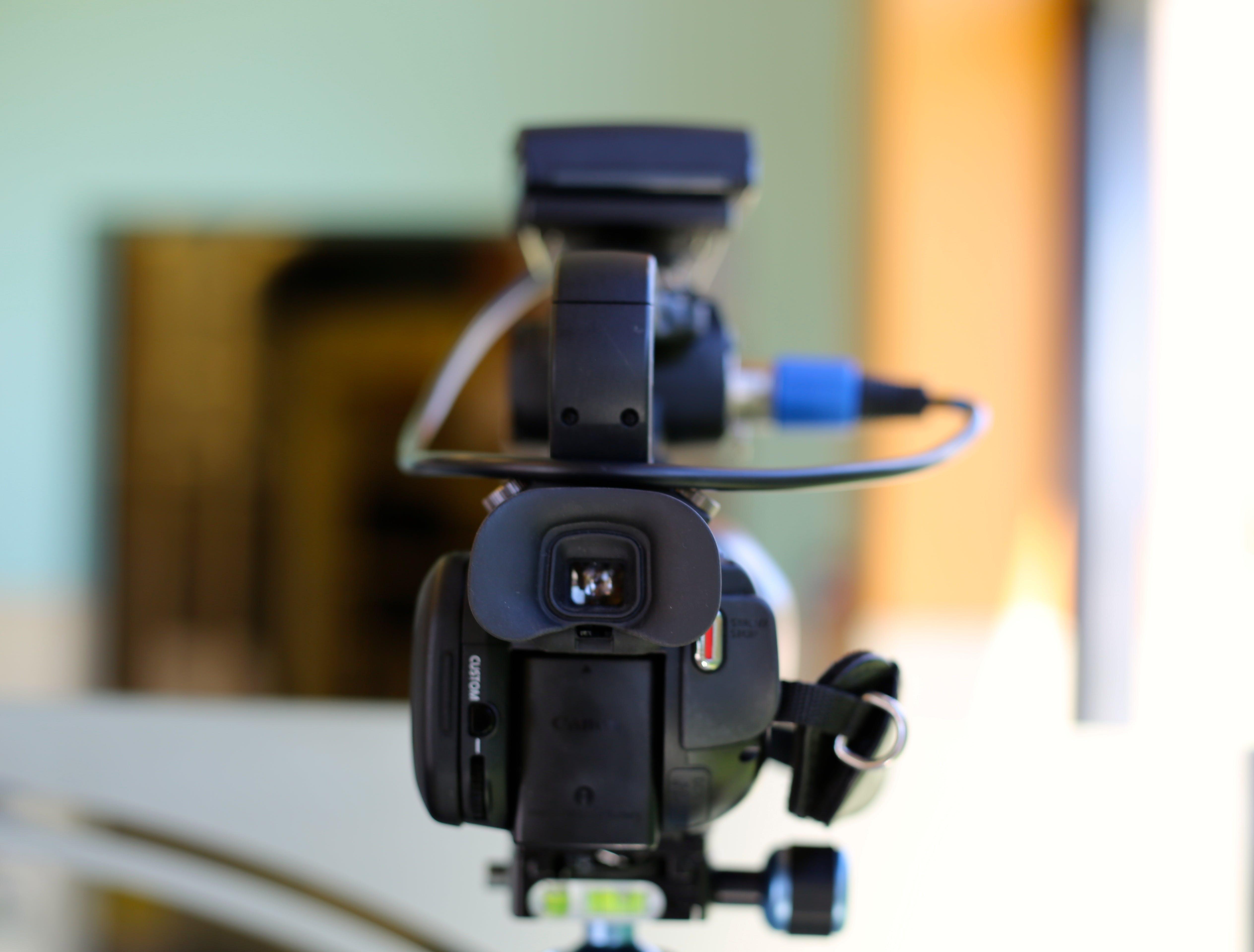 Kostenloses Stock Foto zu kamera, technologie, film, video