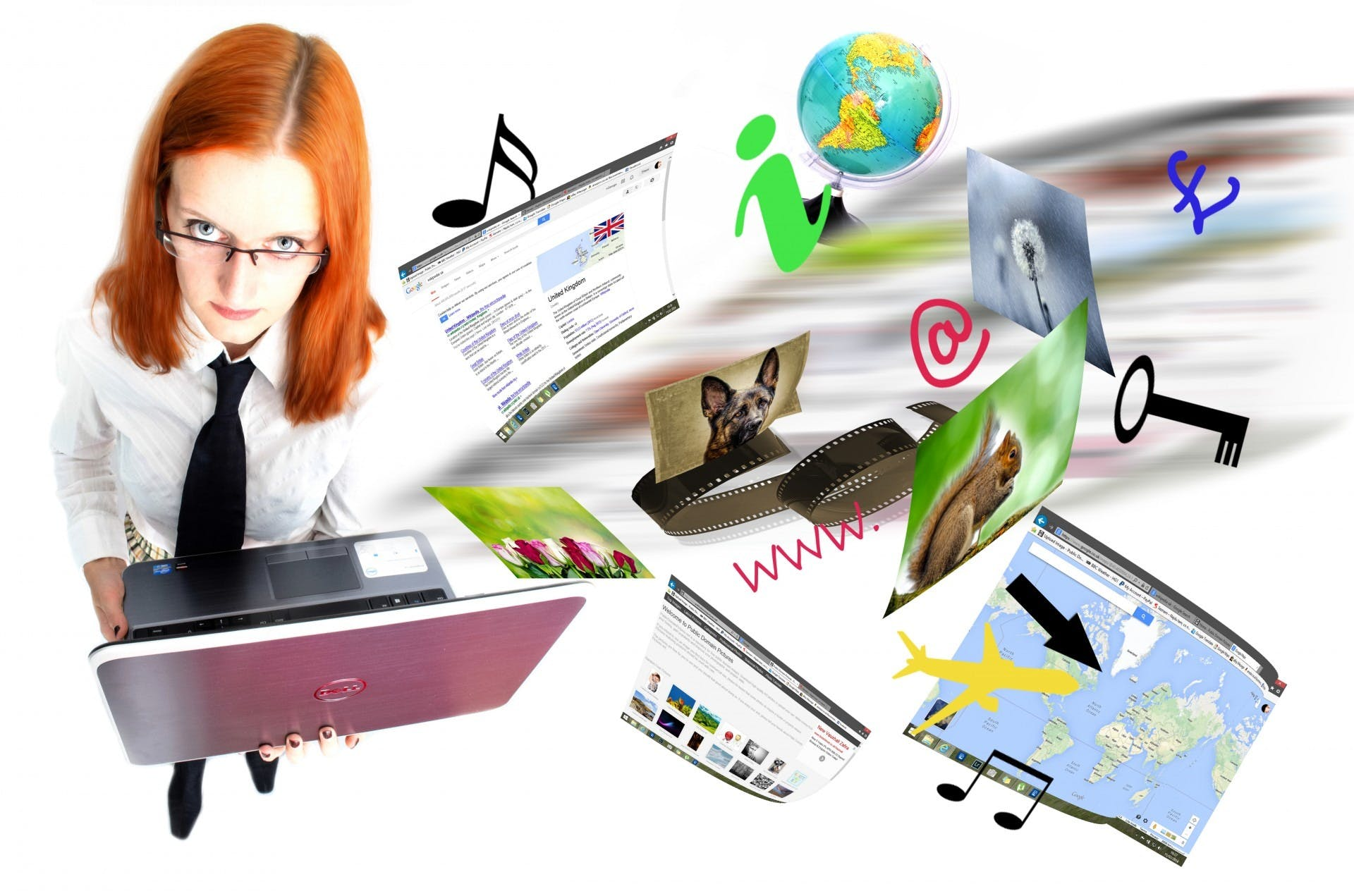 Free stock photo of people, building, laptop, browsing