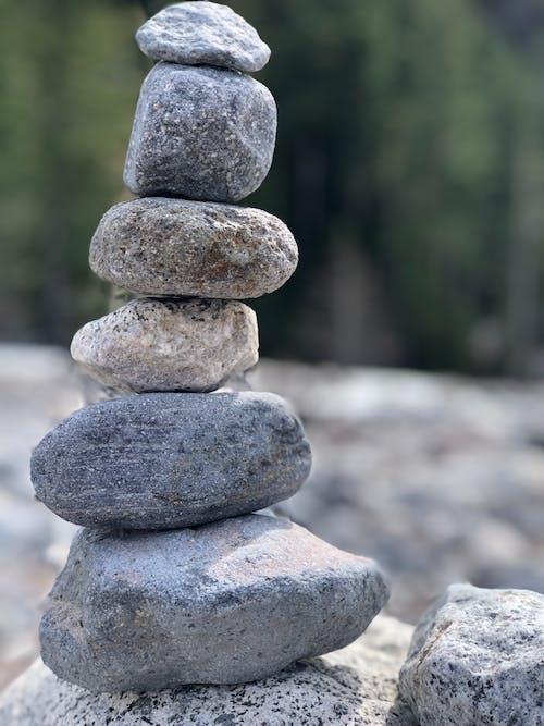Photos gratuites de cailloux, équilibrage de la pierre, fleuve, pierres