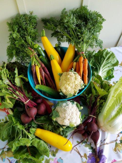Δωρεάν στοκ φωτογραφιών με καρότα, κουνουπίδι, λαχανικά, νοστιμότατος