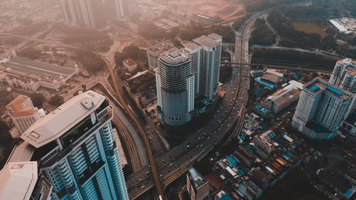 Free stock photo of aerial, aerial photography, building, drone