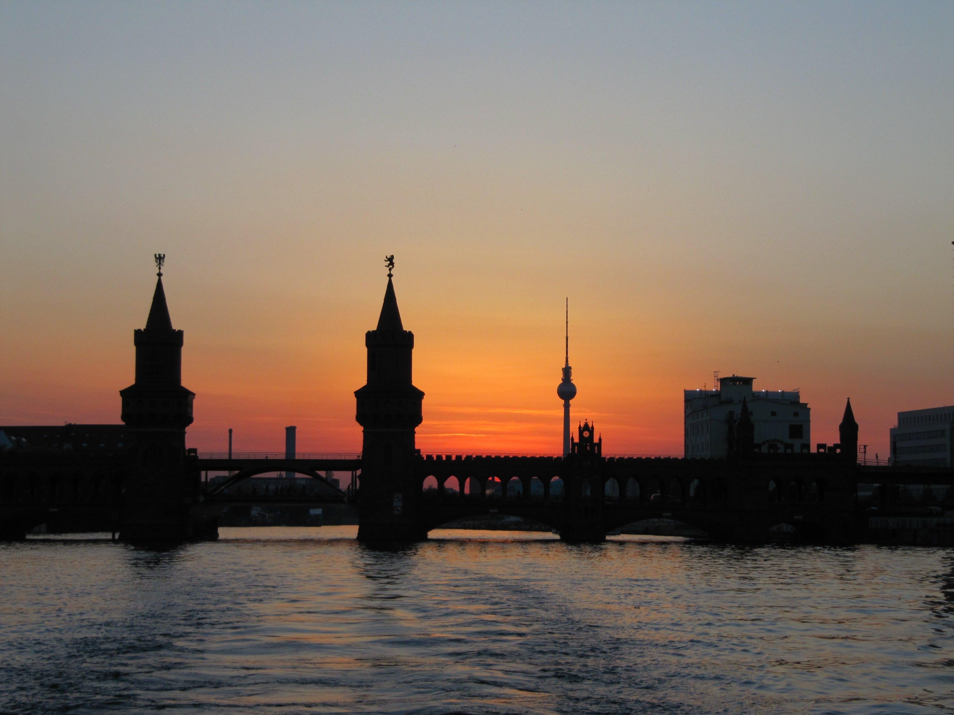 abendstimmung, architecture, berlin