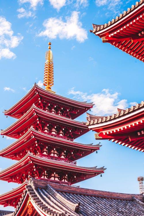 Δωρεάν στοκ φωτογραφιών με ανατολικός, αρχαίος, αρχιτεκτονική, Ασιατική αρχιτεκτονική