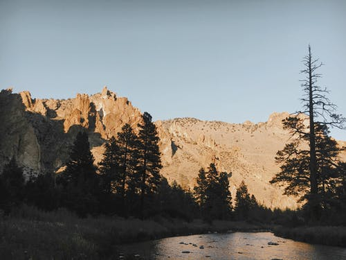 Free stock photo of clear sky, mountains, oregon, river