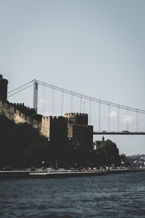 Imagine de stoc gratuită din bosphorus, curcan, fortăreață, Istanbul