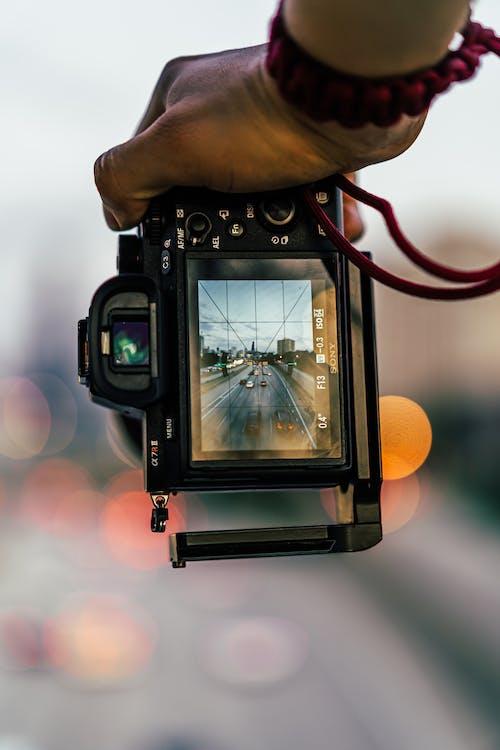 Foto profissional grátis de bokeh, borrão, câmera, clássico