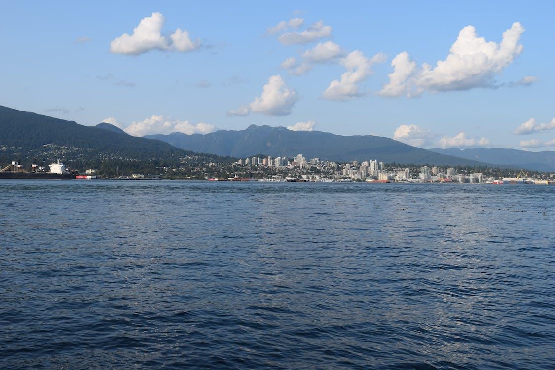 mountains, ocean