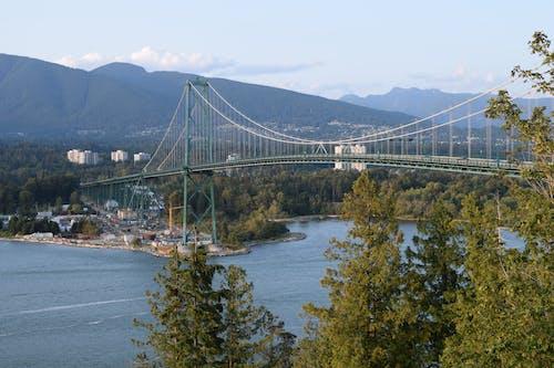 köprü, vancouver içeren Ücretsiz stok fotoğraf