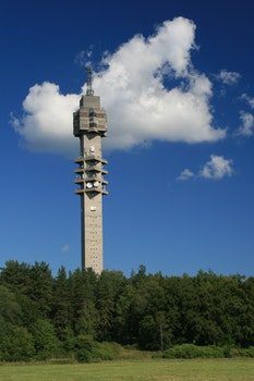 Free stock photo of tower, stockholm, sweden, tv station
