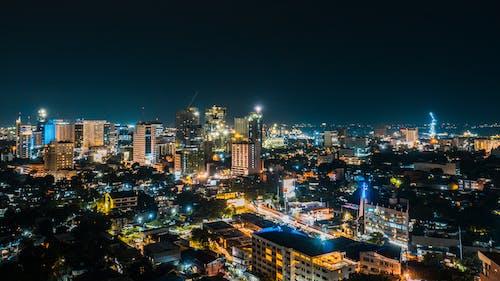 Photos gratuites de Cebu, lumières de la ville, nuit, ville la nuit