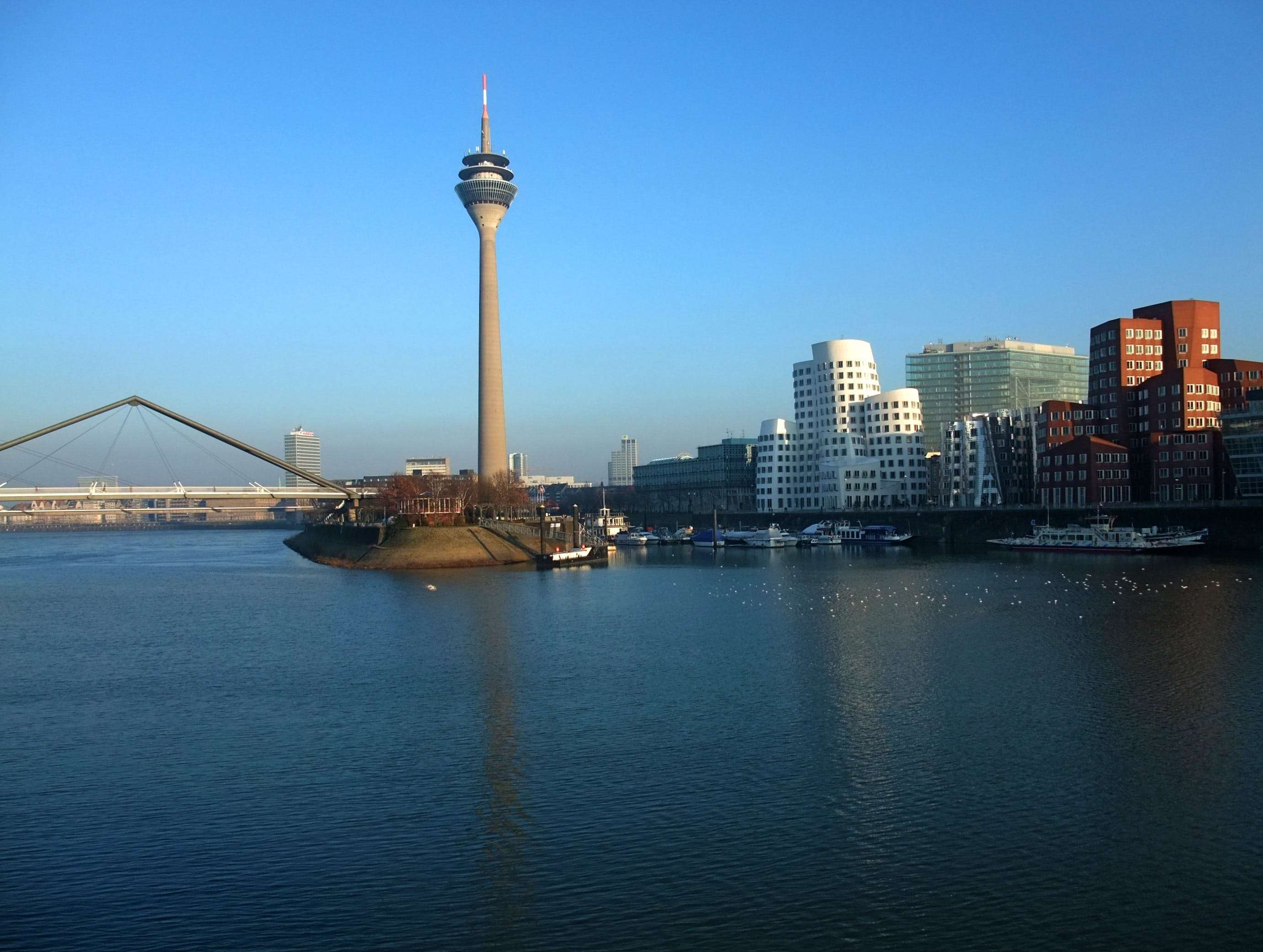Free stock photo of building, germany, tv tower, rhine