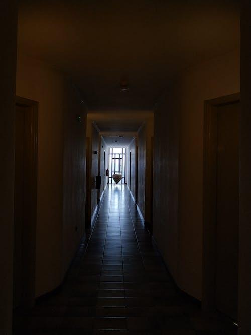 Free stock photo of building, corridor, doors, hotel