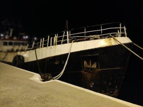 Free stock photo of dock, old ship, port, sea