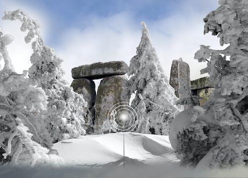 คลังภาพถ่ายฟรี ของ กีฬา, บันทึกจุด, ฤดูหนาว, หิมะ