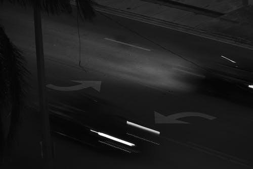Δωρεάν στοκ φωτογραφιών με οπίσθιος φωτισμός, πόλη τη νύχτα, φώτα αυτοκινήτων