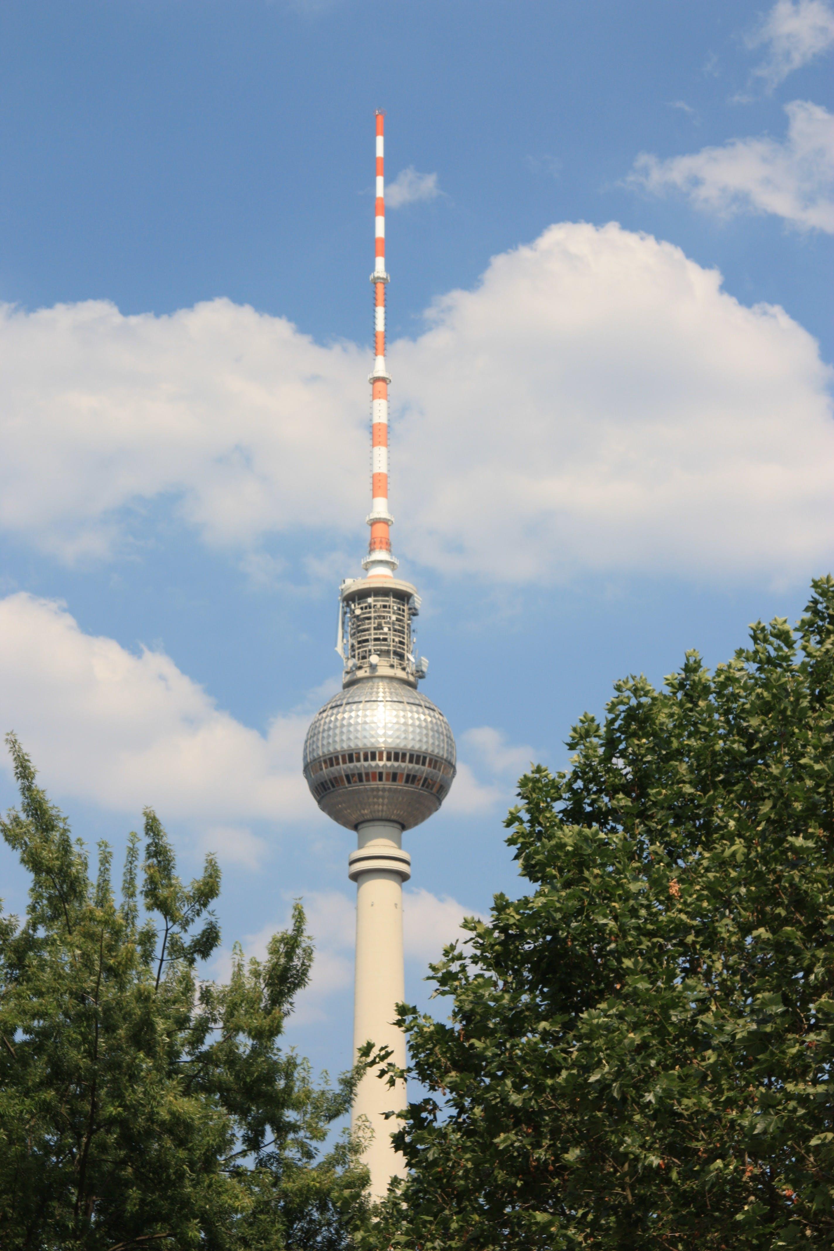 Free stock photo of berlin, tv tower, berlim