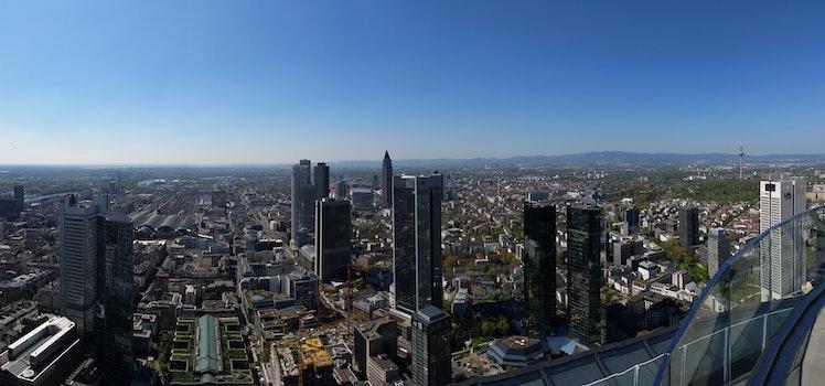 Free stock photo of city, landscape, sky, skyline