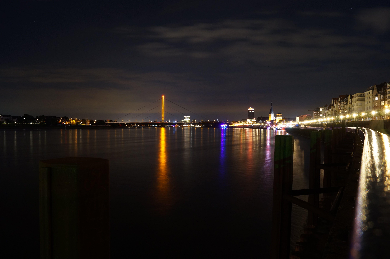 Free stock photo of city, water, bridge, ship