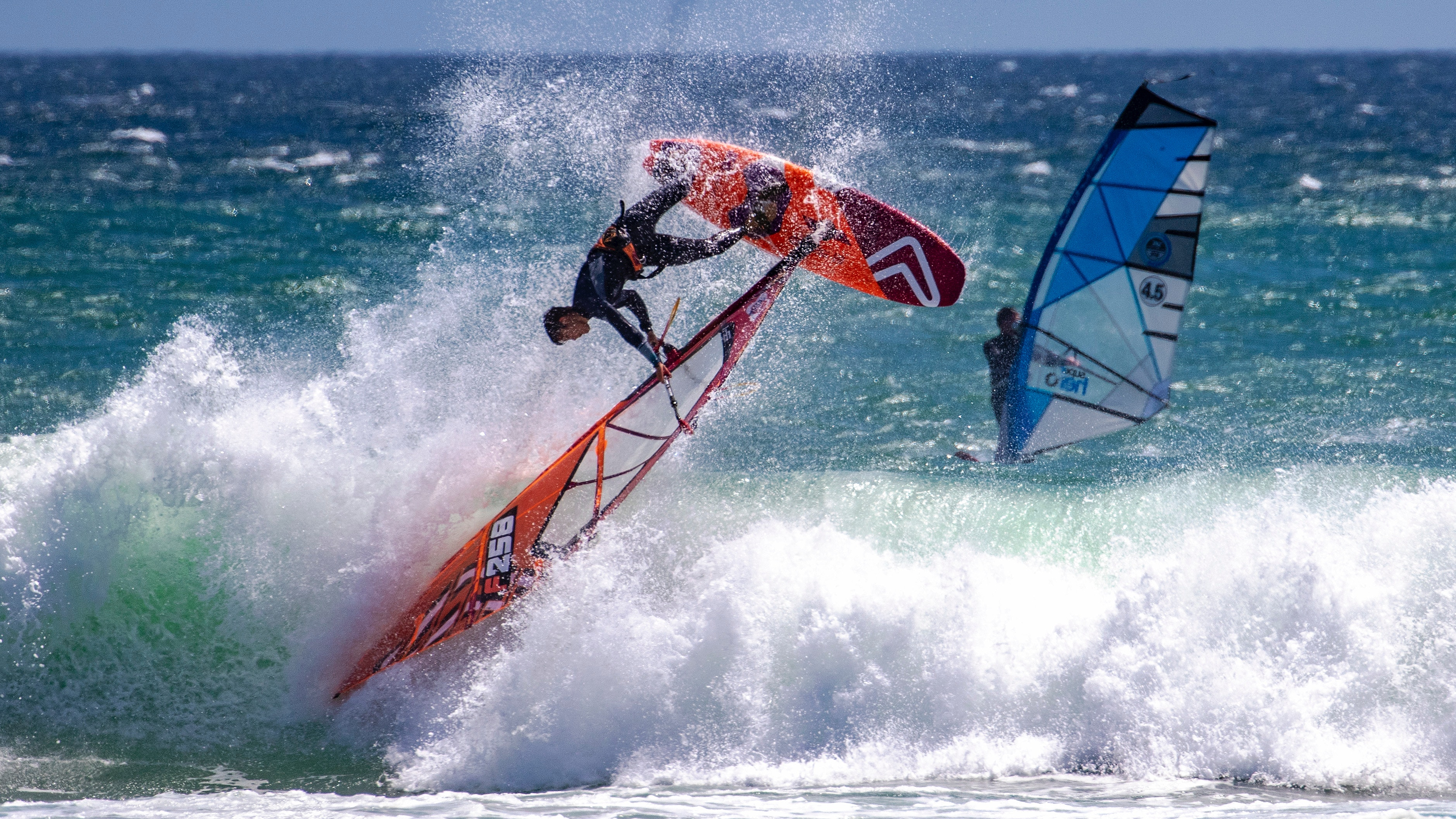 Windsurfing in Singapore