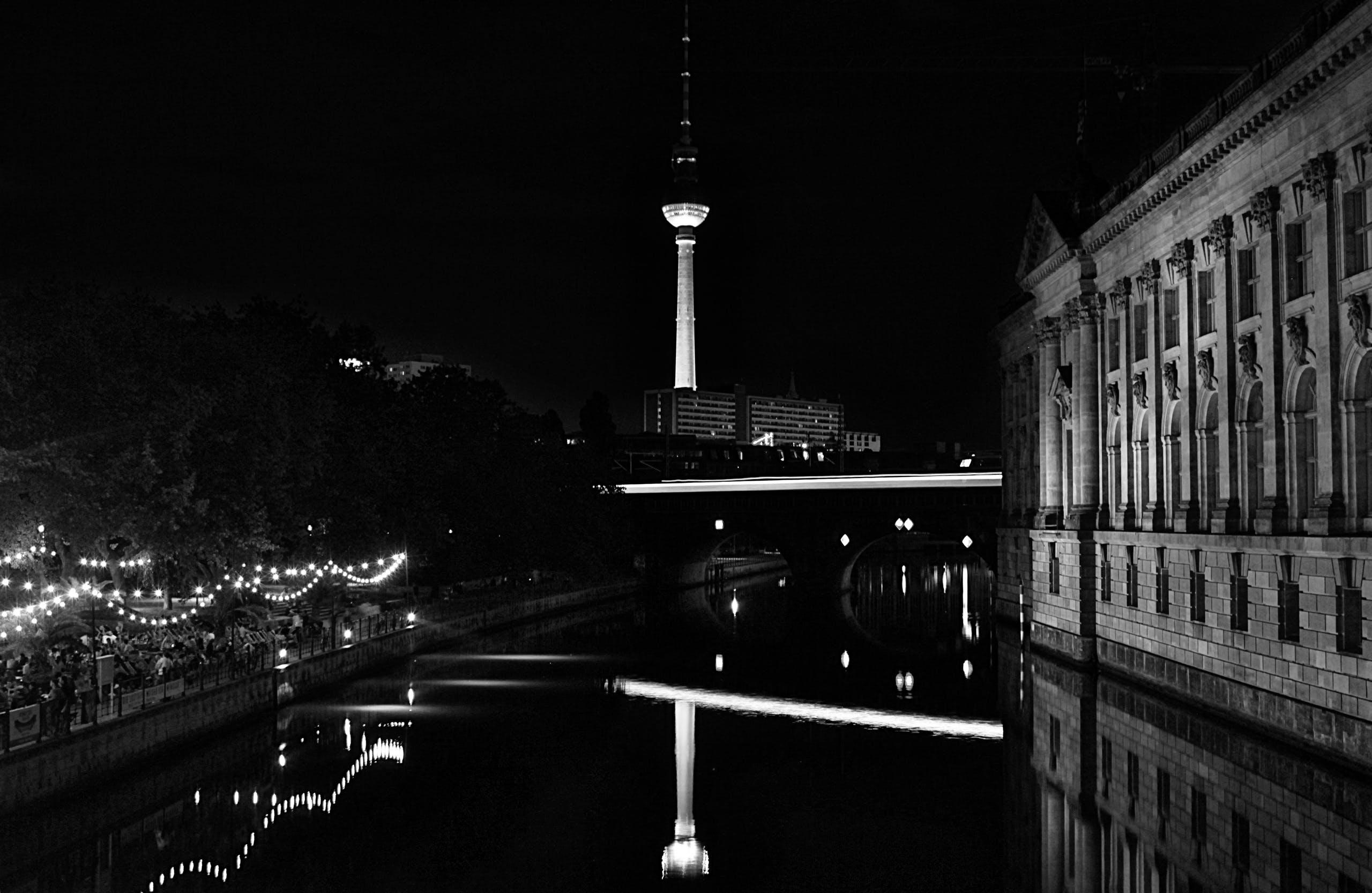 Gratis lagerfoto af aften, Alexanderplatz, arkitektur, berlin