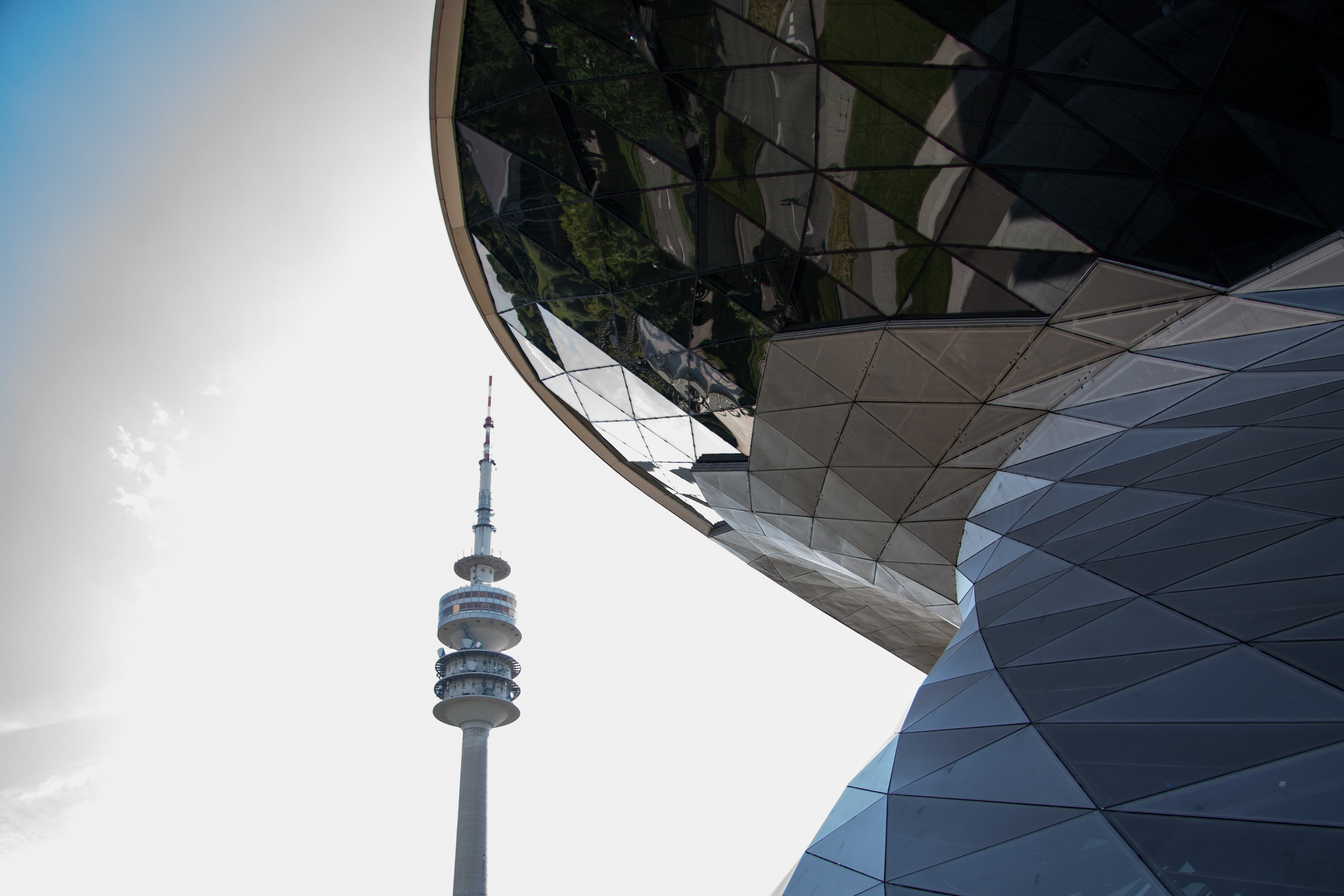 Free stock photo of building, architecture, munich, tv tower