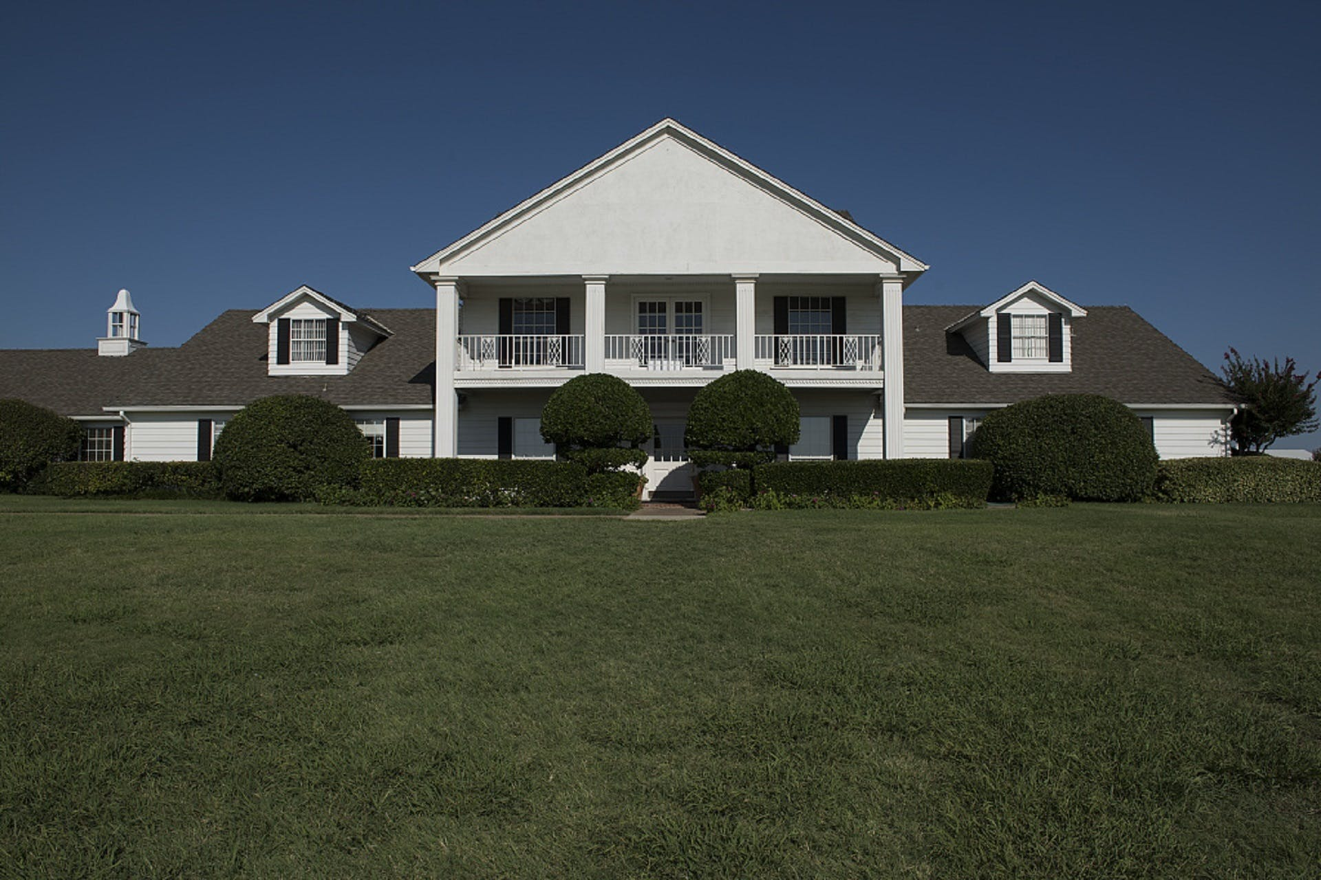 House Beyond Green Plants