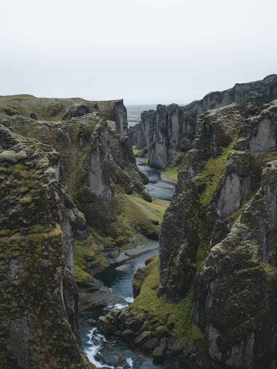 islanti, joki, jyrkänne