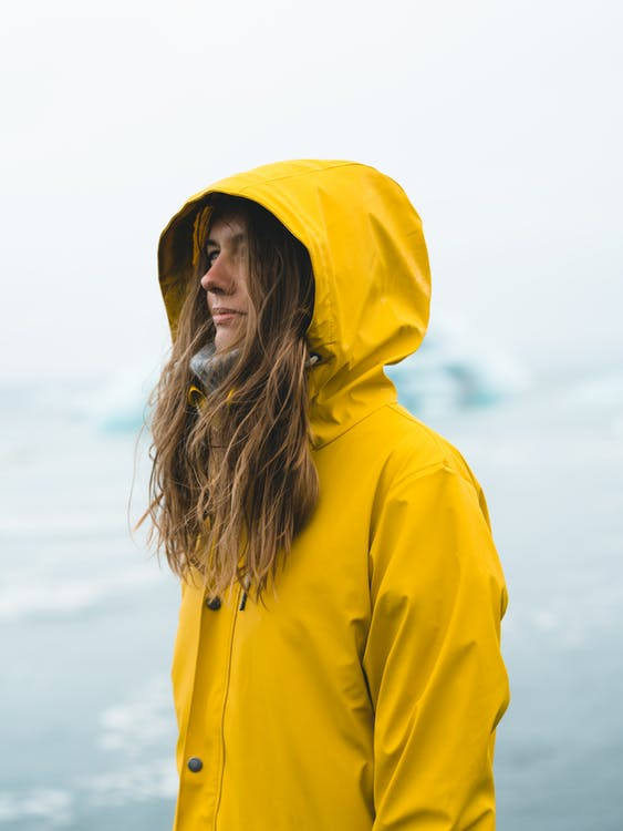 Photo of Woman Wearing Yellow Jacket