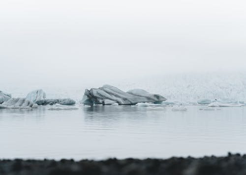 Body Of Water And Iceberg