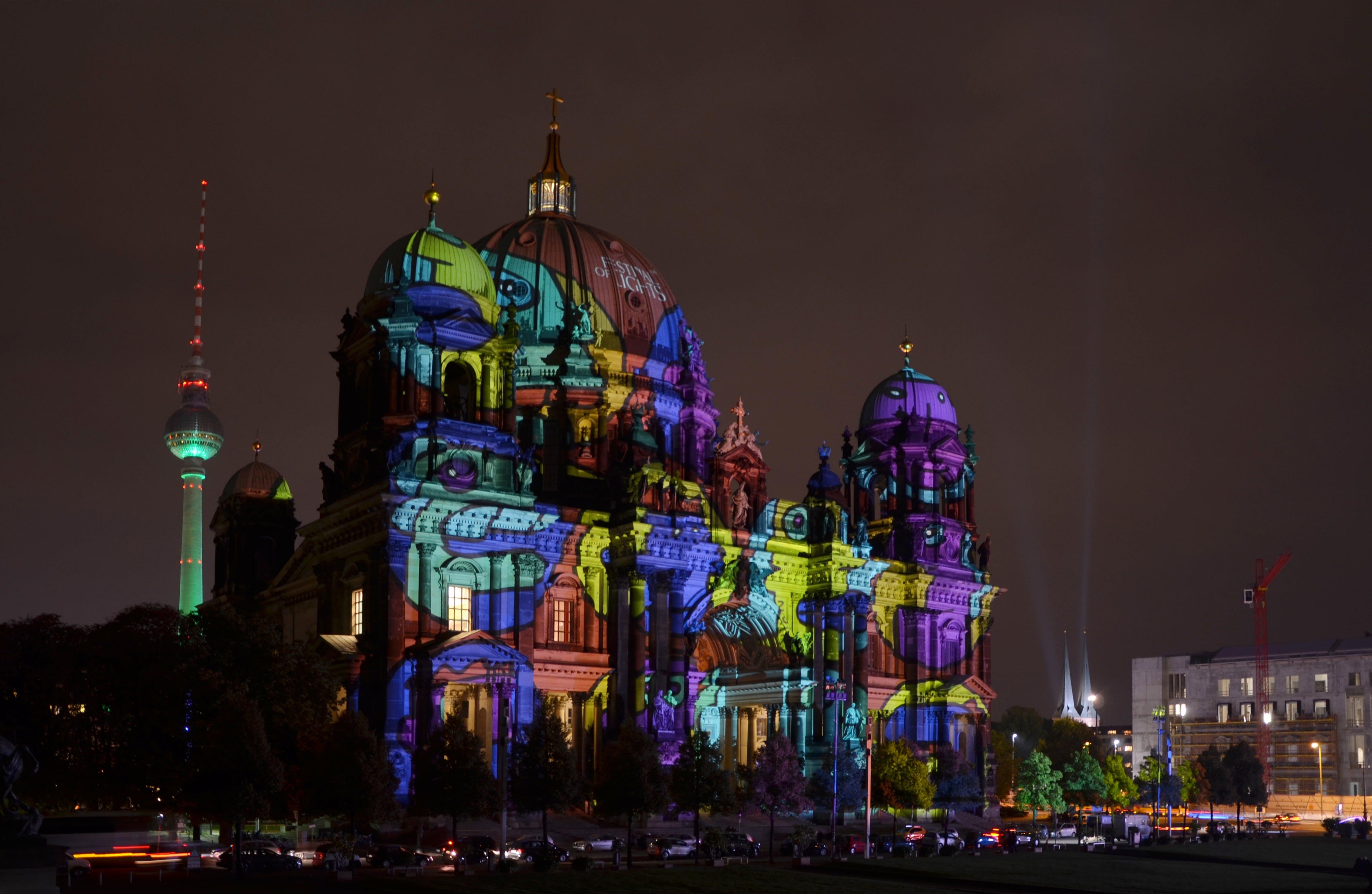 Free stock photo of light, city, art, landmark