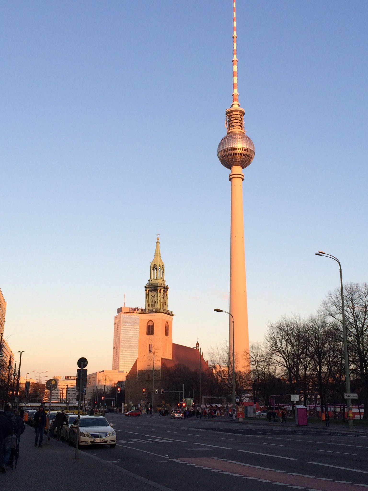 Free stock photo of city, sunset, capital, berlin