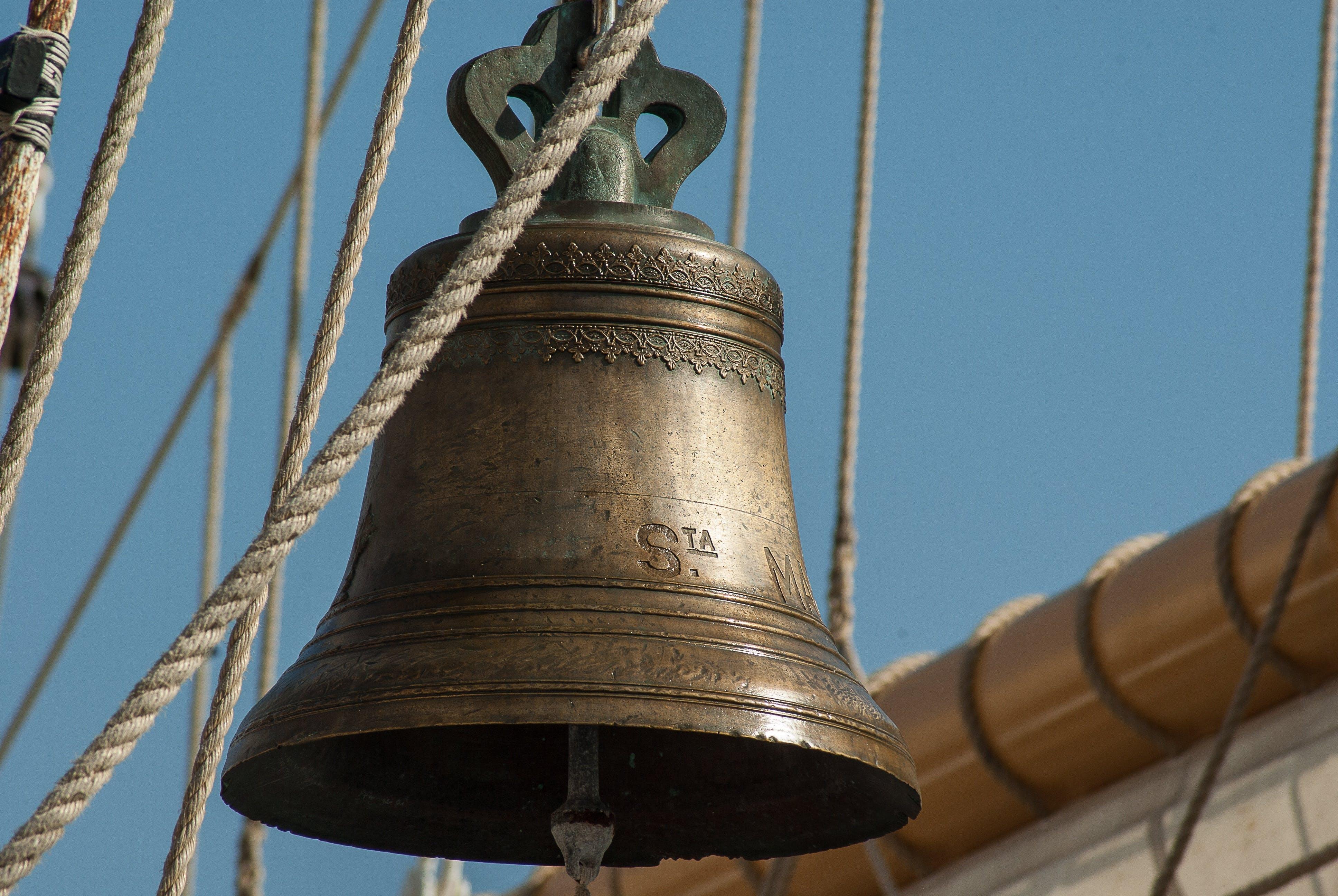 Brown Metal Bell